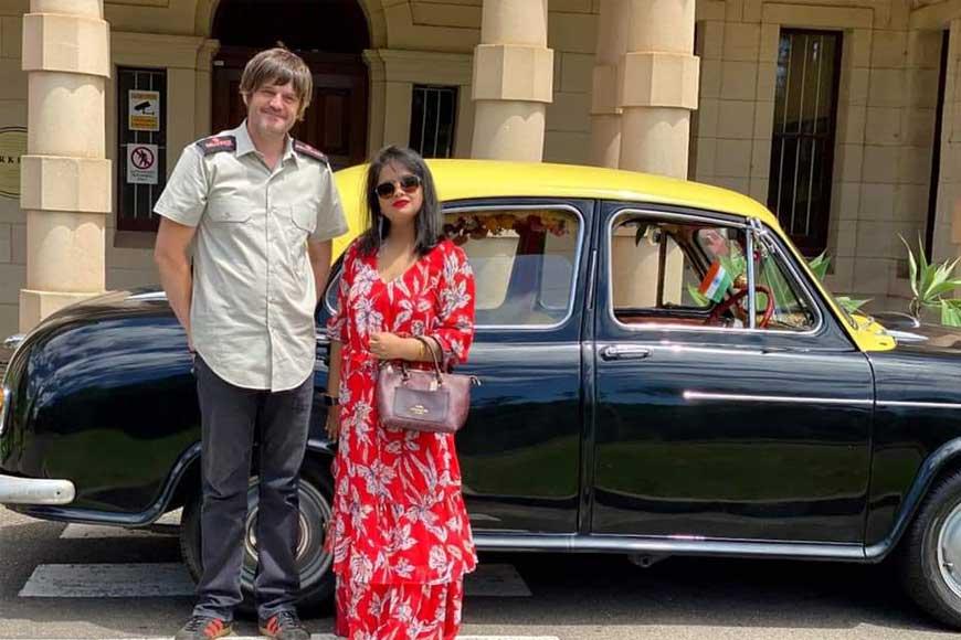 Kolkata's Heritage Ambassador Taxi now on Sydney Streets!
