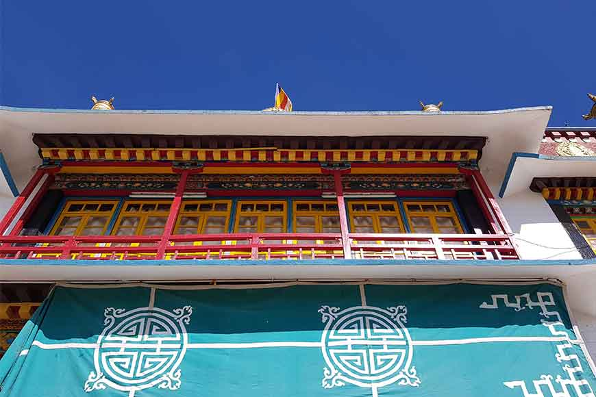 Connect to silence of the hills at Kalimpong's Tharpa Choling Monastery