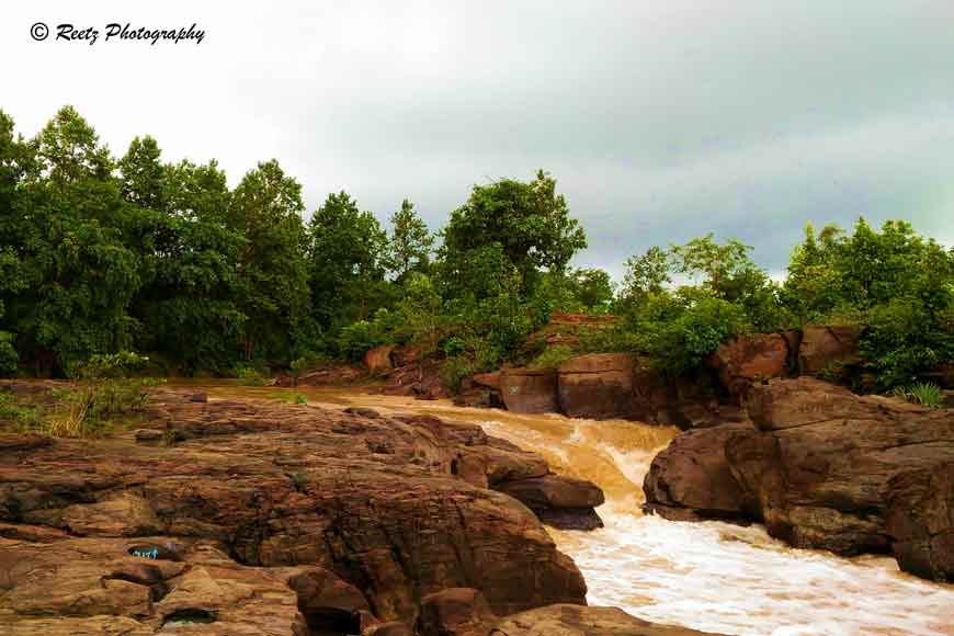 Call of the wild --- The Ghagra Falls of Belpahari