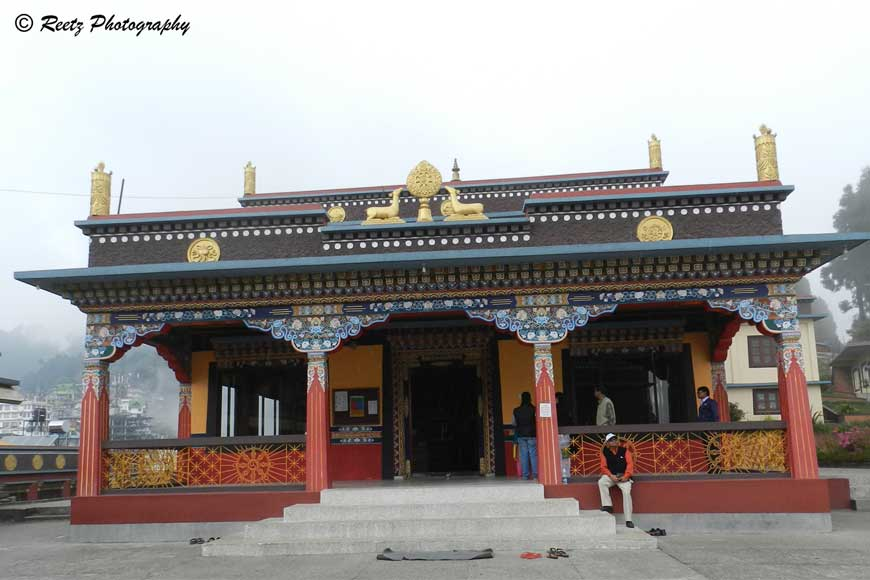 Walk along the misty trail to Kalimpong's Kagyu Thek Chen Ling Monastery