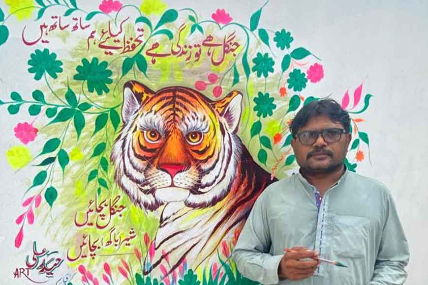 'Truck Art' to be used to 'Save Tigers' of Sundarbans: Famous Pakistani Truck Artist joins