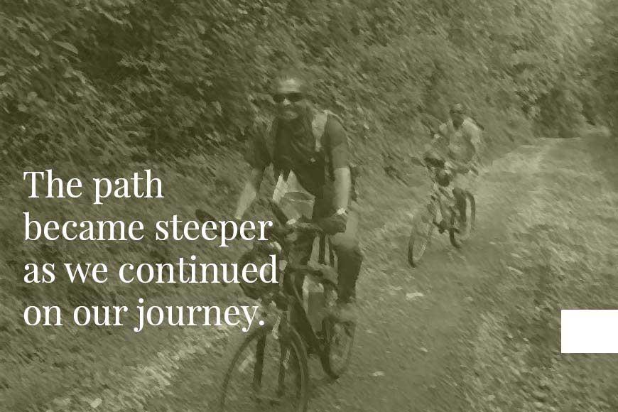 The Treeman's Diary --- Ujjwal Pal on his cycle beyond Mt Kilimanjaro
