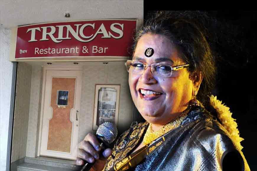 Usha Uthup will again perform live at Trincas this month!