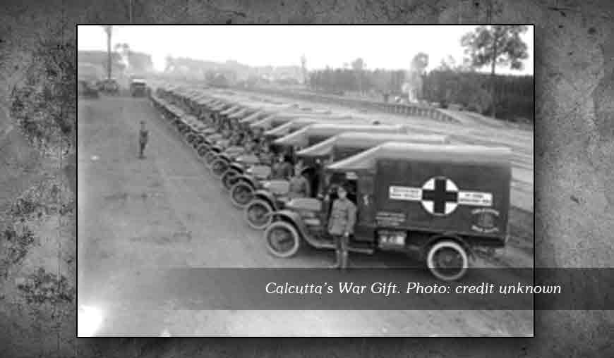 Footprints of World War I in Kolkata