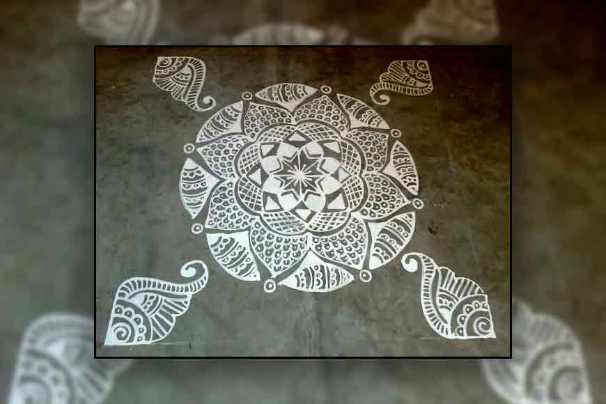 Bengal's Alpona Art has its roots in Harappan Civilisation!