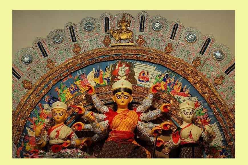 A 500-year-old Durga Puja along the Shali River of Bankura