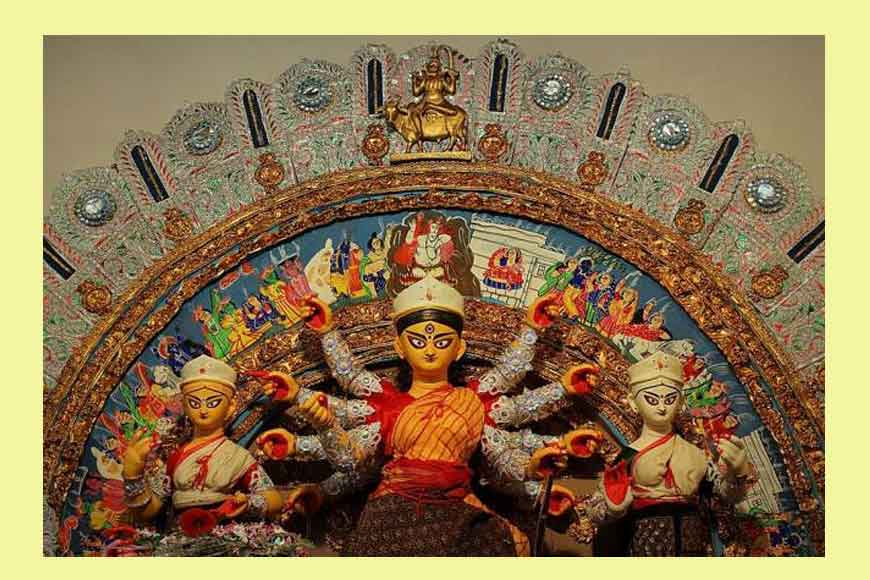 Durga Puja along the Shali River of Bankura 500-year-old