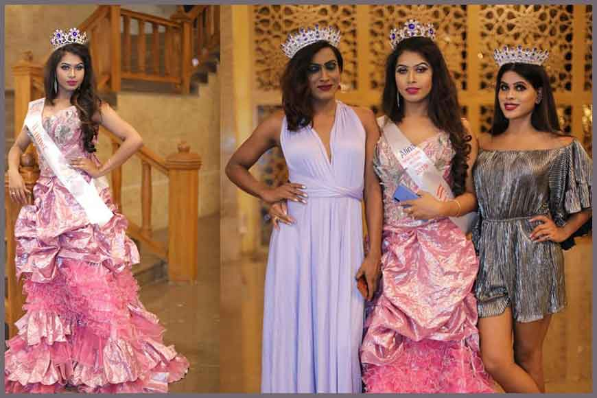 Transgender from Kolkata, Annie, bags crown of Miss India Trans 2019