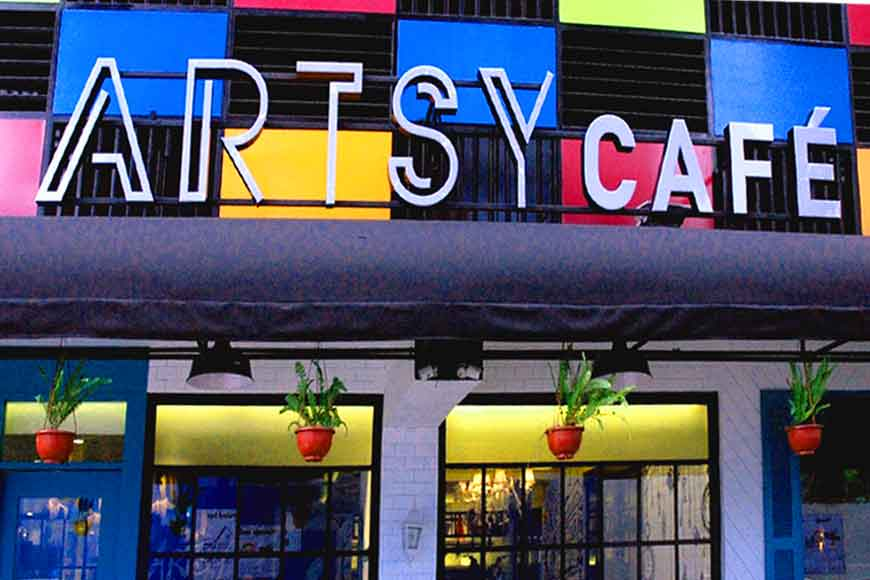 Artsy Café – for the artistic foodie