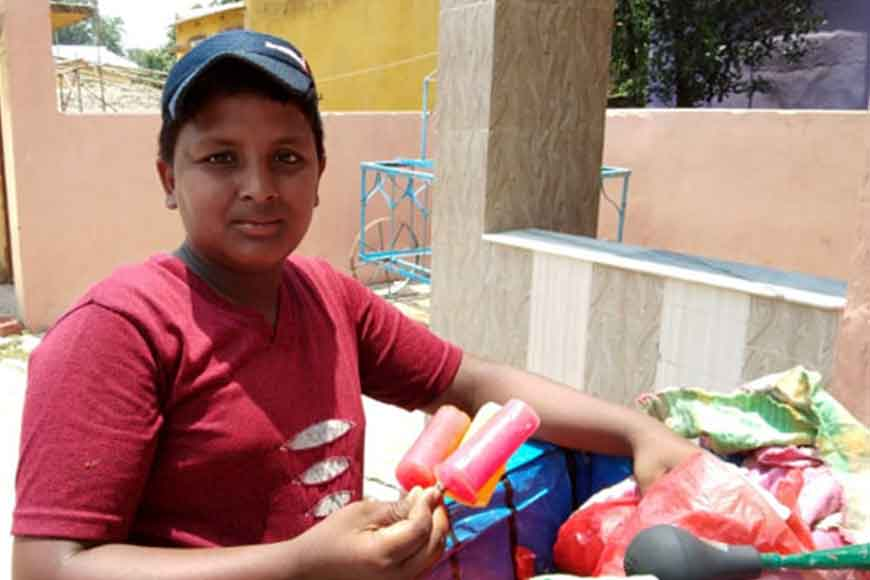 Child turned ice-cream seller to fund his dad's medicines
