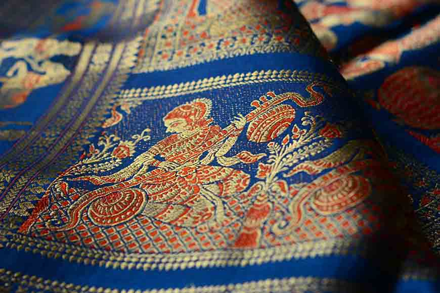 When a saree tells a tale -- on a Baluchari trail