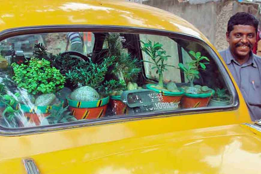 Kolkata's Green Taxi to scatter seeds on way to Delhi