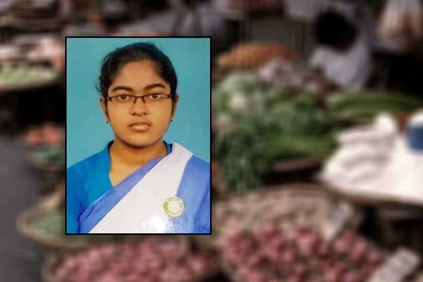 Vegetable vendor's daughter stands 3rd in Higher Secondary