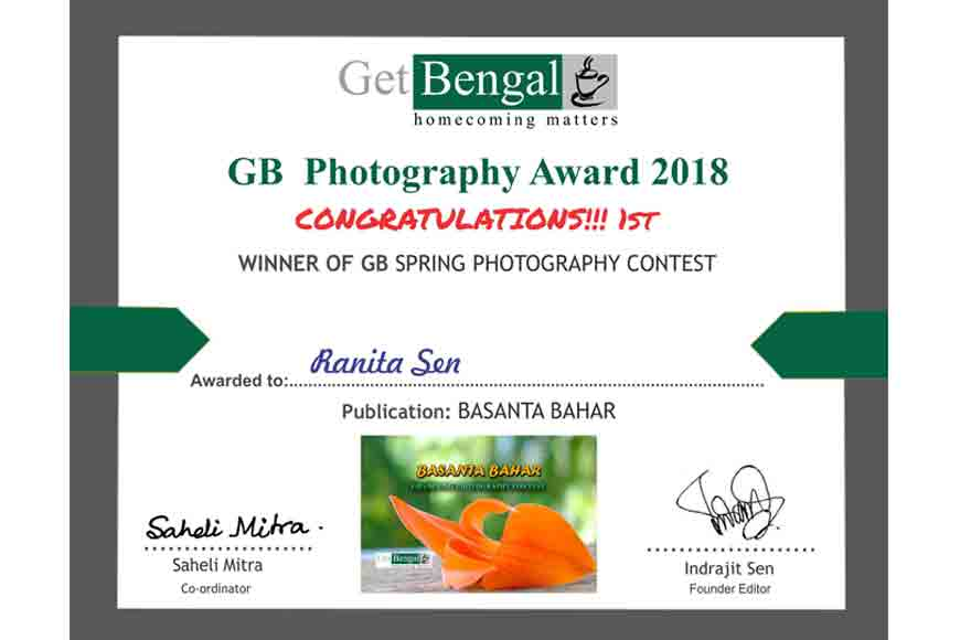 Congrats! Winners of GB Spring Photography Contest