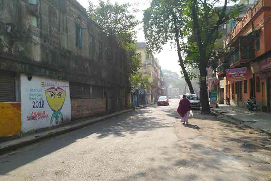 Raja Basanta Roy Road's revolutionary past
