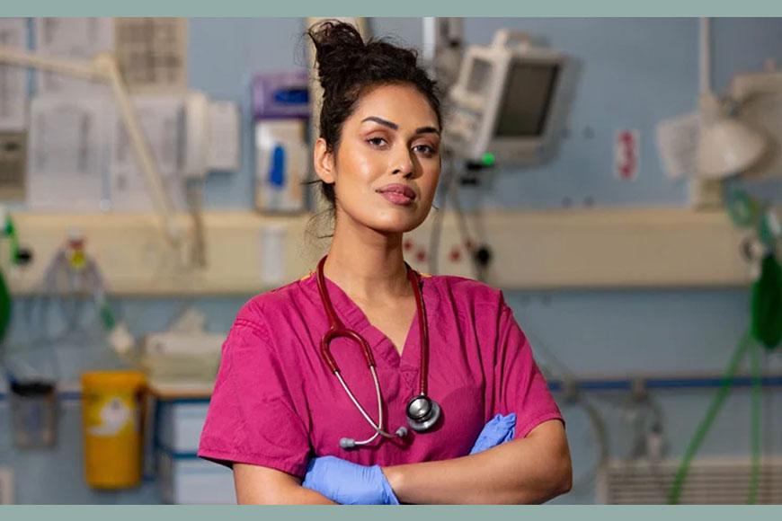 Miss England Bengali girl Bhasha Mukherjee dons her doctor cap amid Corona menace