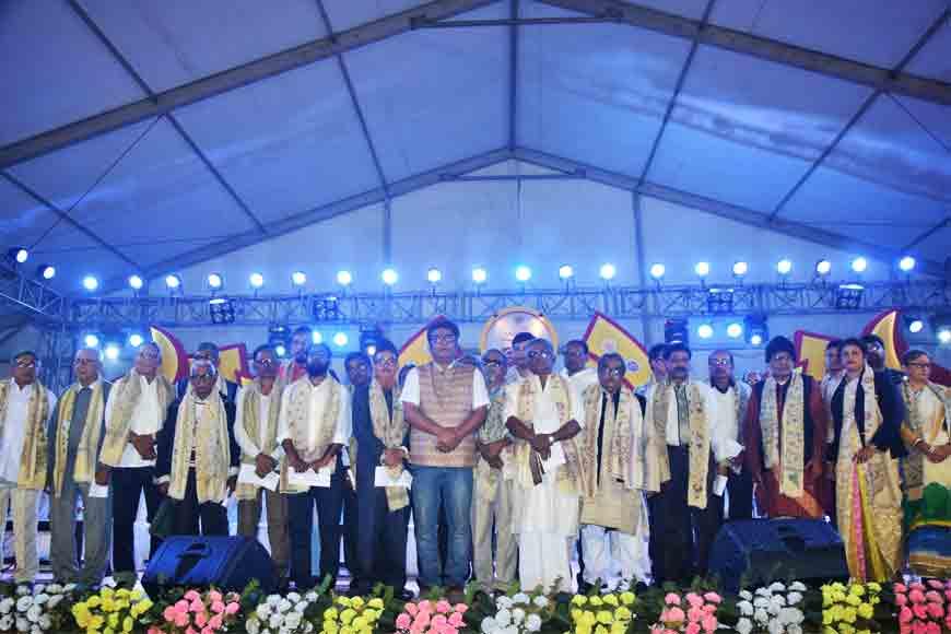 Chandannagar Bidhansabha Utsav felicitates town stalwarts