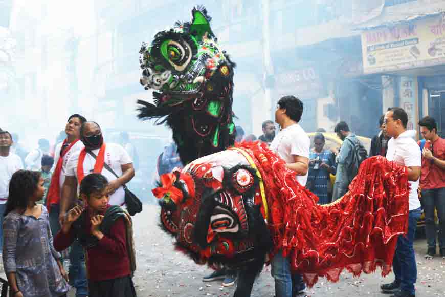 Kolkata's Chinese New celebrations behind the lens