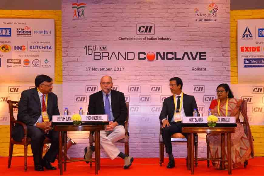 Brand guru Paco Underhill at Kolkata CII Conclave