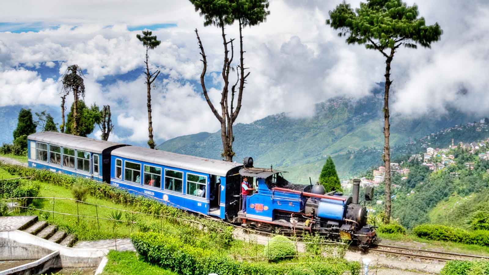 How ball room dance steps helped Darjeeling Toy Train journey