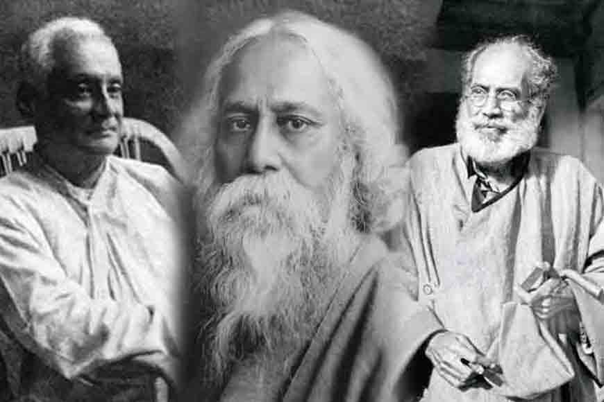 The three artists of Tagore Family