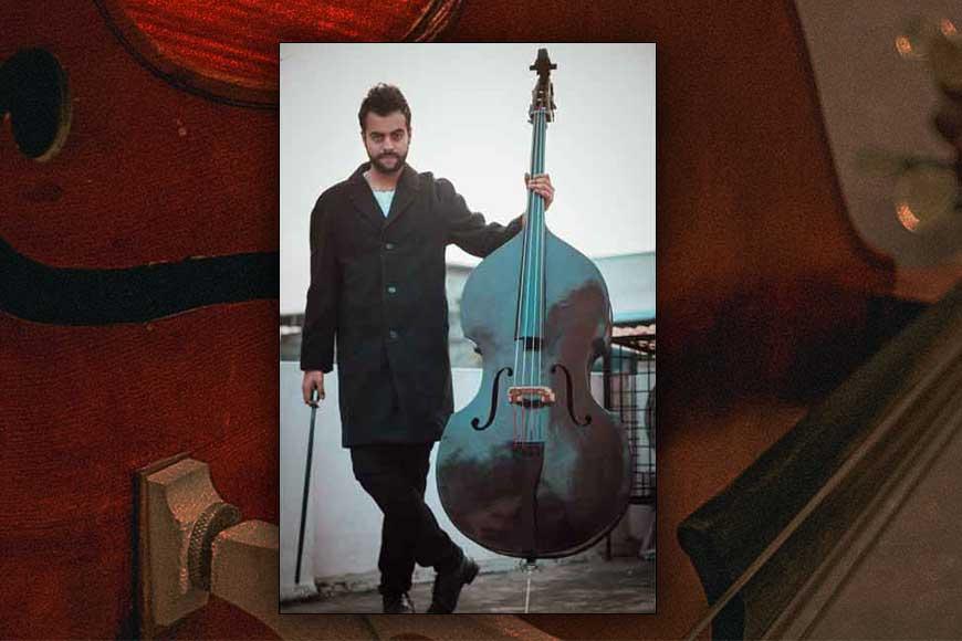 Talented Debjit Mahalanobis and his Double Bass wonder!