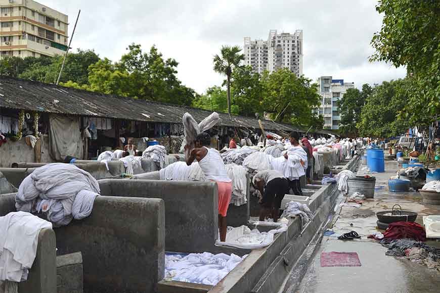 Oldest Dhobi Khana of India is still operational in Kolkata