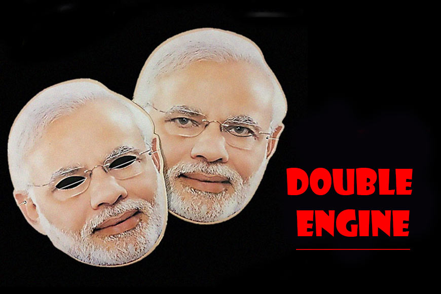 'Double engine': Has Modi forgotten how his own party was born?
