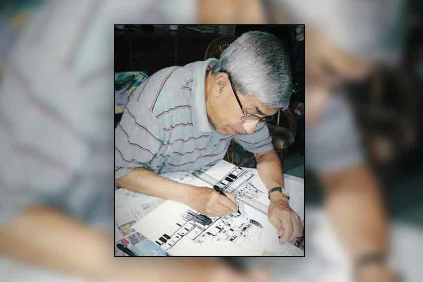 Trace Kolkata through Ink and Paper drawings of 76-year-old engineer Sandip Chatterjee