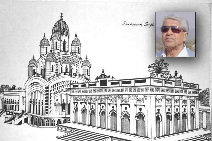 seventy-six-year-old Kolkata engineer on his exquisite ink and paper drawings