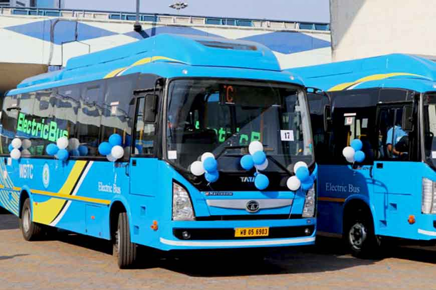 Newly launched electric buses might save Kolkata from pollution