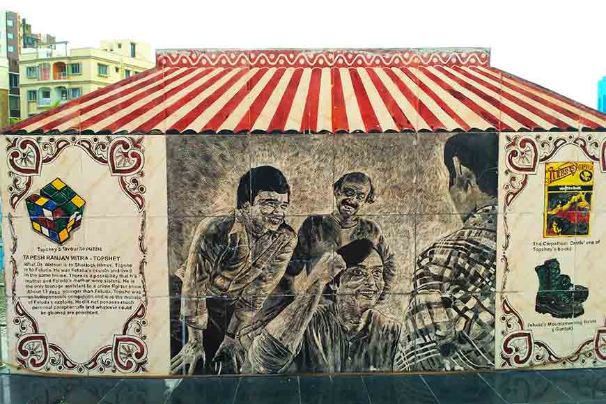 Visit New Town's Feluda Park to meet your favourite detective