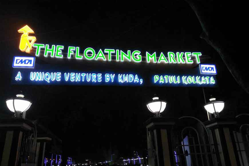 Challenges to Kolkata's first ever floating market opened