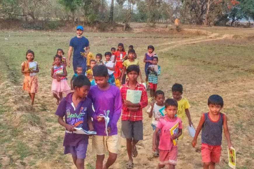 Anshuman Thakur's 'Tree School' of Murshidabad