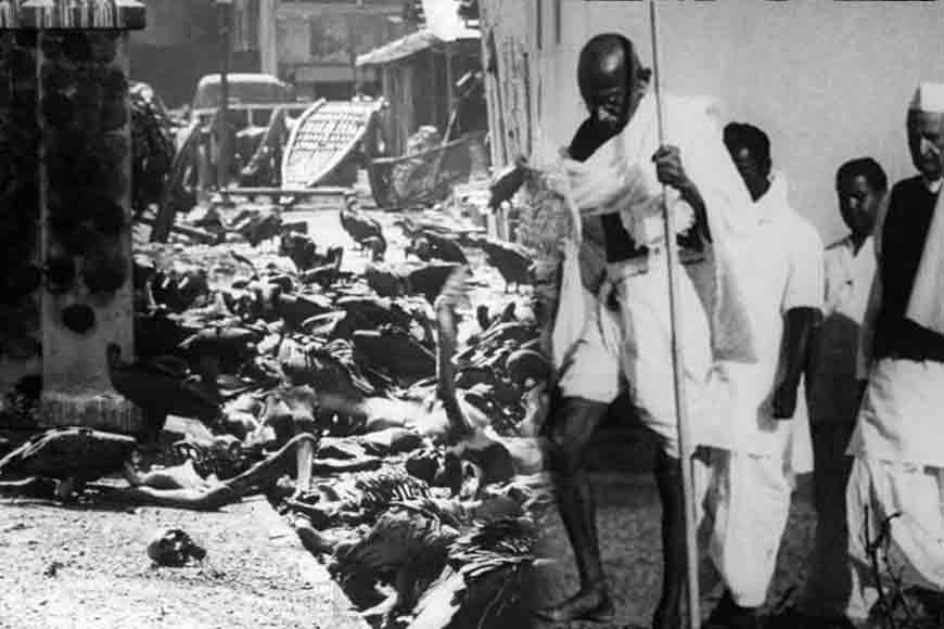 Why was Mahatma Gandhi unnerved by Bengal riots?