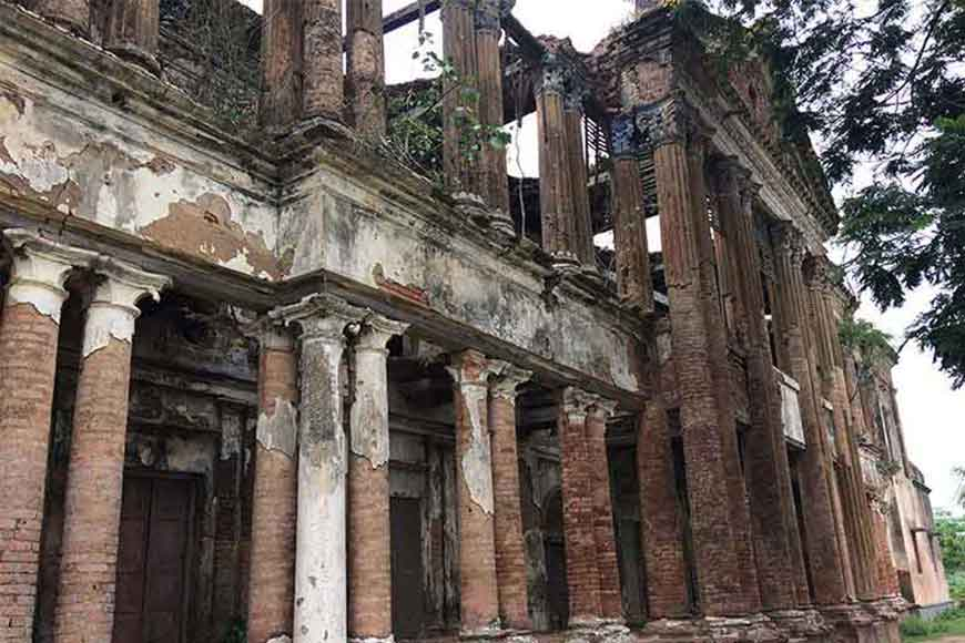 Memories of Satyajit Ray's Jalsaghar still resonates in the ruins of Nimtita Palace