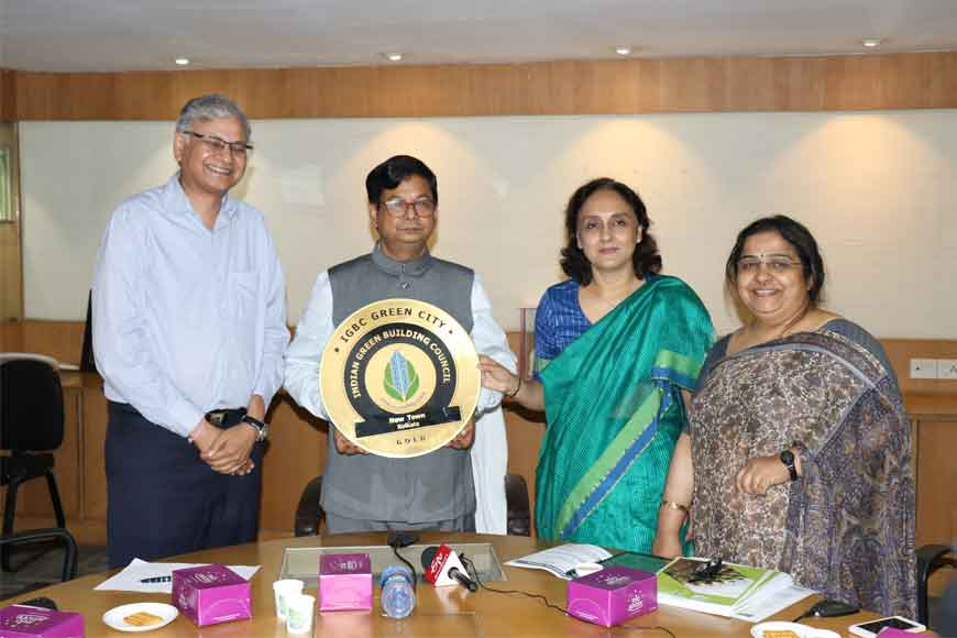 First time in India! New Town bags 'Green Cities' gold certificate