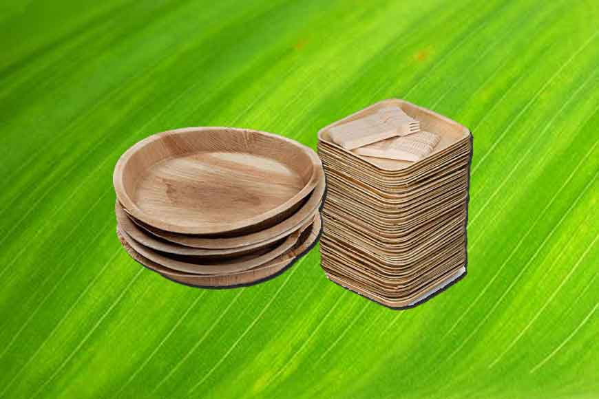 Kolkata comes up with new eco-friendly utensils made of lotus and maize leaves!