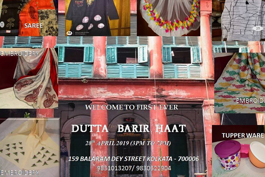 Dutta Barir Haat was a unique event at a 200-year-old house