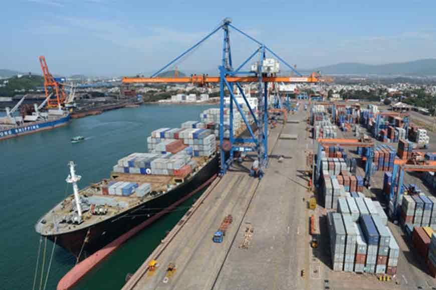 India's first international cargo ship starts journey from Haldia
