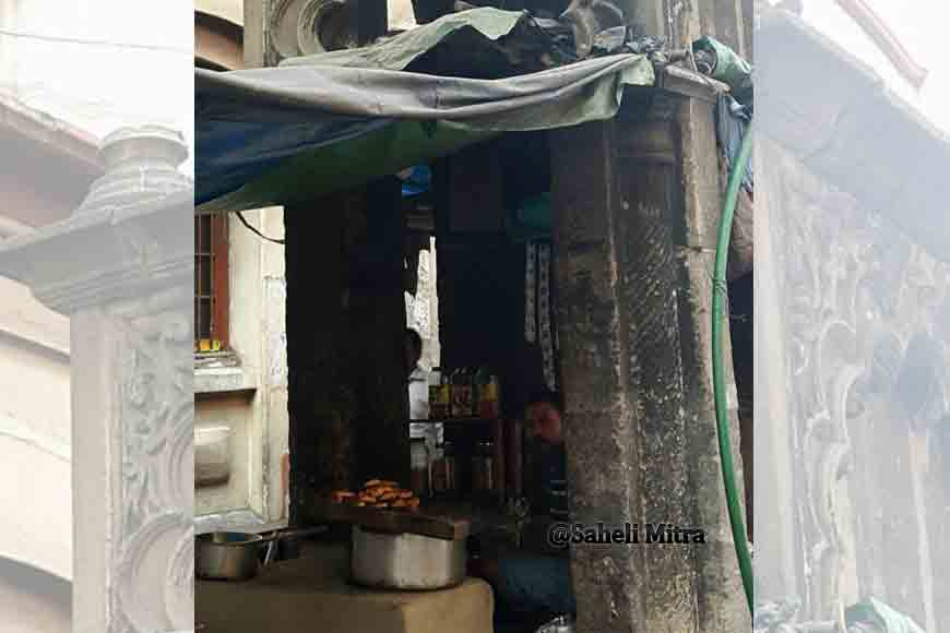 Kolkata's heritage gate built by Dhaka's Nawab is now a litti- tea stall!