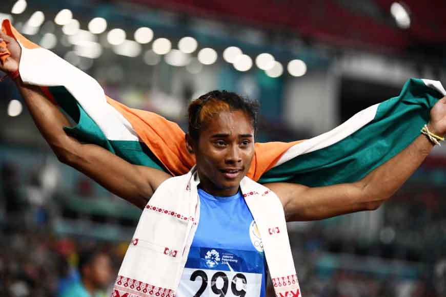 While India watched World Cup Cricket, Hima Das again made us proud