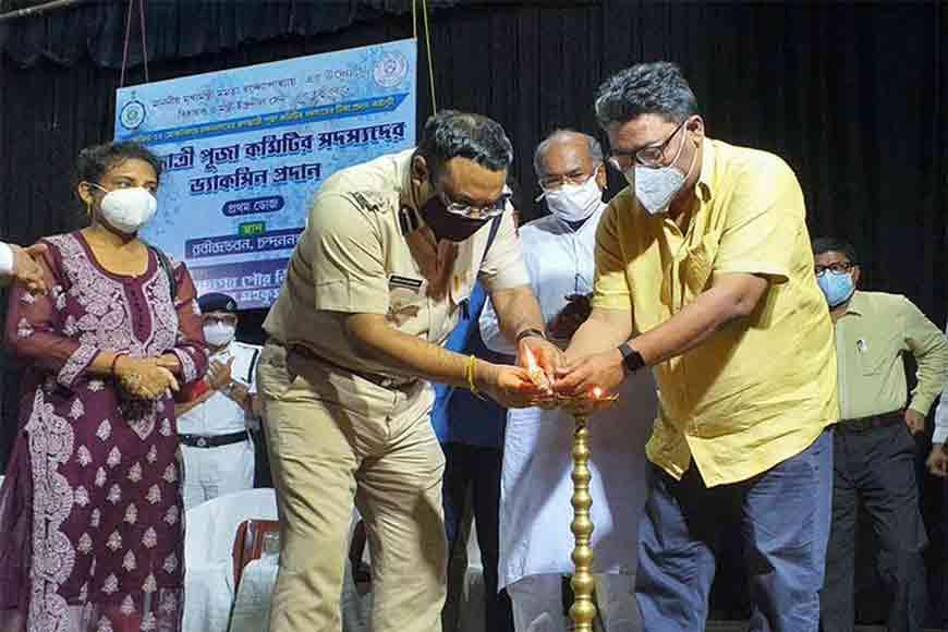 Chandannagar Jagaddhatri Puja committees receive vaccine boost