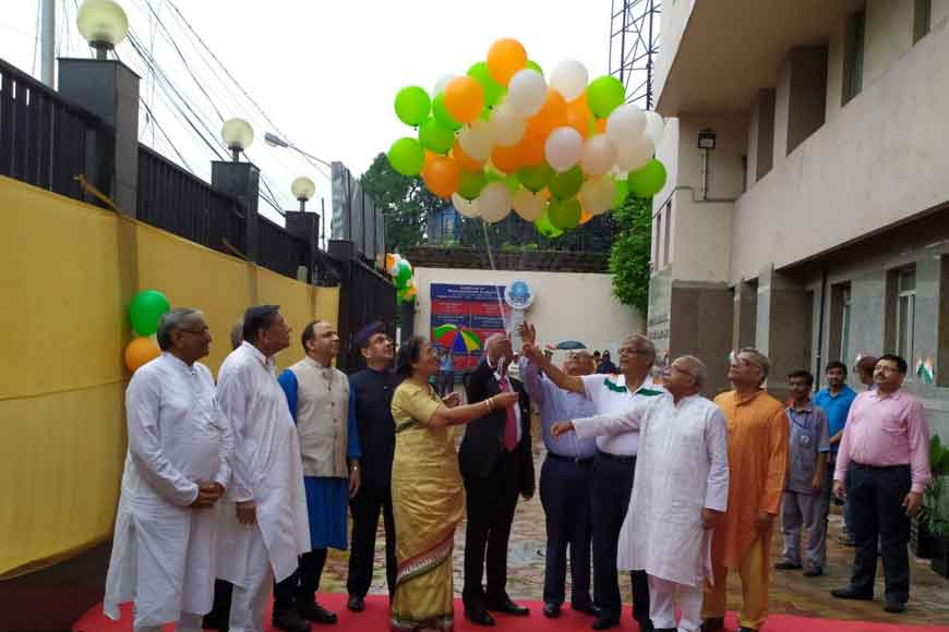 Freedom celebrations at Institute of Neurosciences Kolkata
