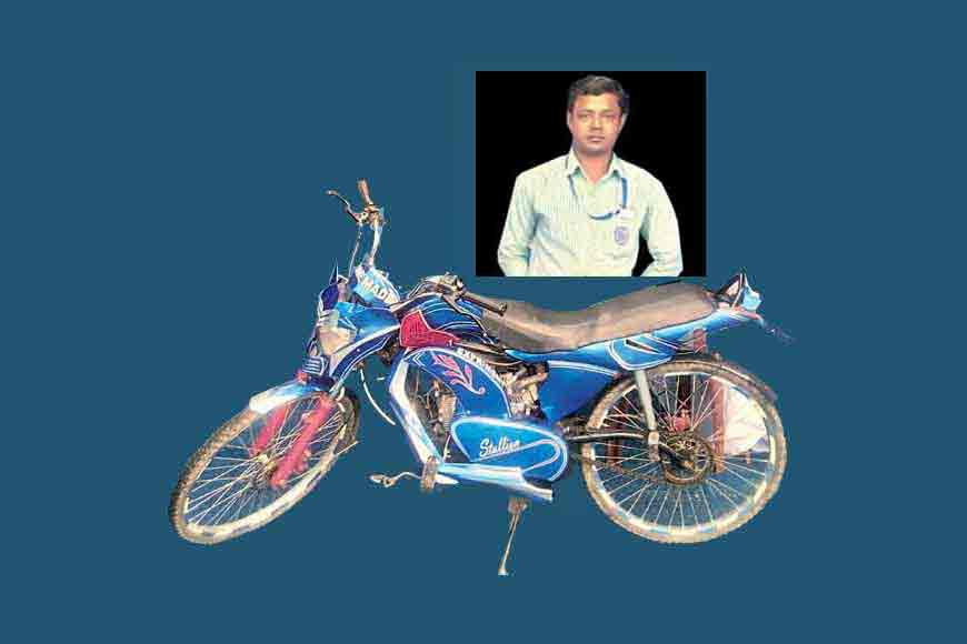 Bengal ITI student turns a cycle to a motorbike!