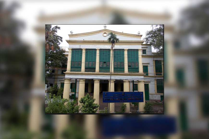 GB visits the first free Public Library of Asia in Uttarpara