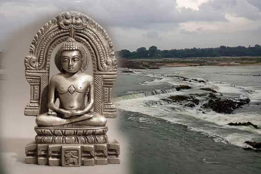 BREAKING! Ancient Jain temple found under Kangsabari River in Purulia!