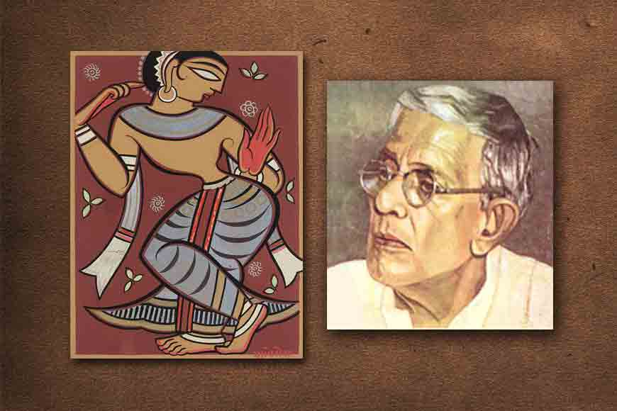 Did Jamini Roy criticize Tagore's paintings?