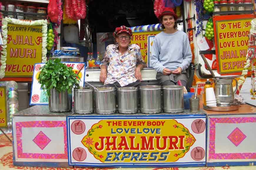 British chef who visited Kolkata is now jhalmuri seller of UK