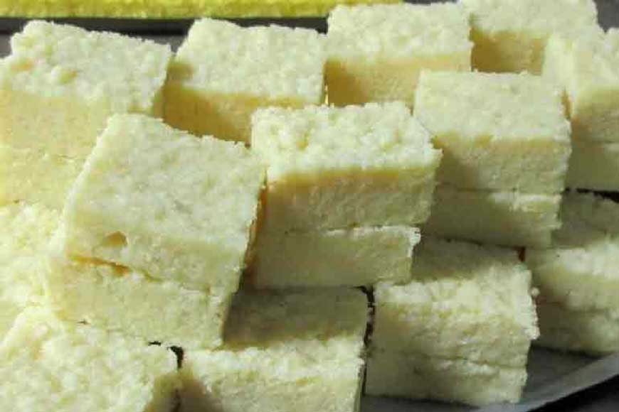 Shimurali's heritage sweet 'Kaalakand' made from buffalo milk